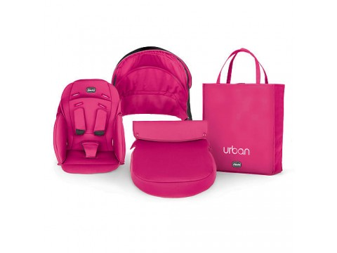 Color Pack Carucior Chicco Urban, Cherry