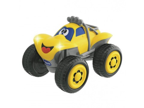 Jucarie Chicco Jeep Billy Big Wheels, galbena, 2+ani