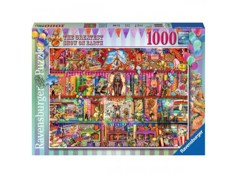PUZZLE CEL MAI MARE SPECTACOL, 1000 PIESE