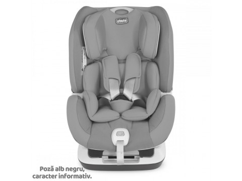 Scaun auto Chicco Seat Up 012 Isofix, Jet Black