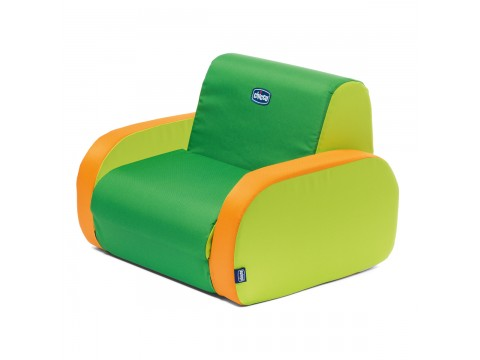 Fotoliu copii Chicco 3 in 1 Twist, Summer Green