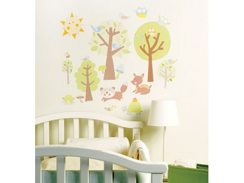 Sticker Decorativ Animal Tales