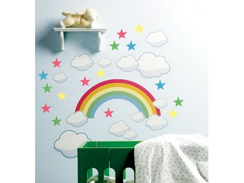 Sticker Decorativ Rainbow Room