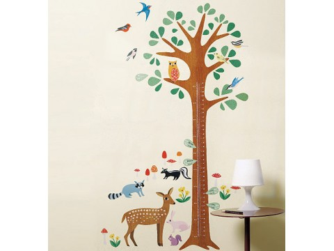 Sticker Centimetru Woodland