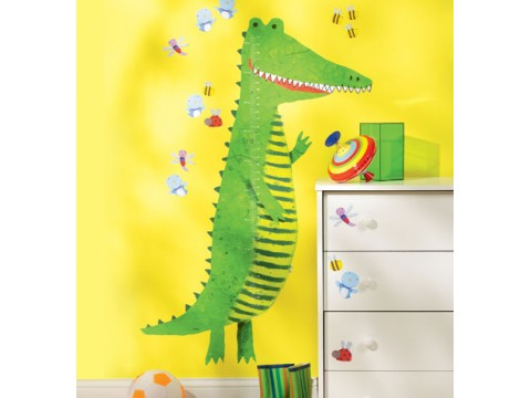 Sticker Centimetru Crocodile