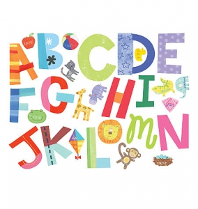 Sticker Alphabet Fun